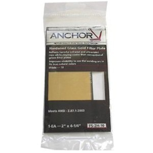 Anchor Gold Filter Plates Fs 2h 10 Welding Lens Size 2