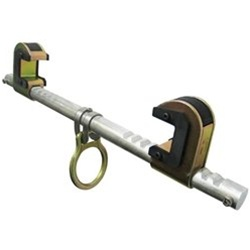 FALLTECH 7530 SteelGrip Beam Anchor - Dual Ratcheting For Centering on I-Beam.