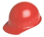Fibre-Metal SUPEREIGHT  ROUGHNECK™ Class G or C Type I High Performance Hard Cap With 3-R Rathet Suspension -Red