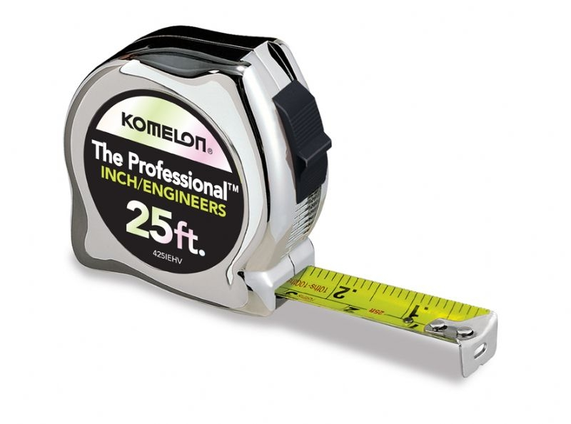 Komelon 425iehv The Professional 25 Ft Inch Engineers