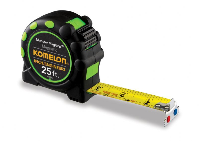 Komelon 7125ie The Professional 25 Ft Inch Engineers