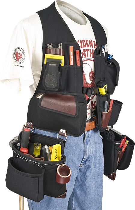 Occidental 2585 Builders Vest Framer Package