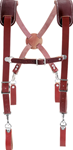 Occidental 5009 Leather Work Suspenders. Made in U.S.A. ******** Best Seller *******