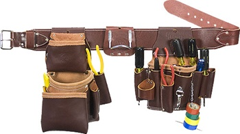 Occidental 5036 Leather Pro Electrician Set