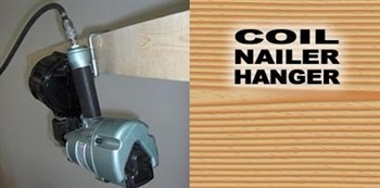 Tool Hangers 81006 Tool Hanger For Coil Nailers Sky