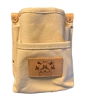 "AAT#001 Mini Bolt Bag 2-Pocket Tool Pouch - Heavy Duty Canvas With 3"" Leather Loop***** Best Seller ******"