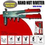 AES NT0140 Hand Nut Riveter SAE Kit. ( Included with 40 Nuts) ***** Best Seller *******Free Shipping Cost in US *********