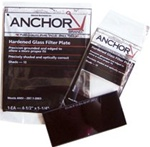 ANCHOR Filter Plates: FS-1H-12 Welding Lens.  Size  2 in X 4-1/4 in. Shade # 12 ( Color- Green)
