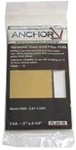 ANCHOR Gold Filter Plates: FS-2H-9 Welding Lens. Size 2 in X 4-1/4 in. Shade # 9 ( Color - Gold)   ******** Glass ********