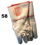 IRONWORKES GLOVES Silver Fleece# 58 Long Cup. Size Large 12 PAIRS. MADE IN U.S.A.