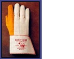 BROOKVILLE 69 Burly Bear Ironworker's Gloves. ( Long Cups) Size Large. Made in USA  12 Pairs. ********* BEST SELLER  **************