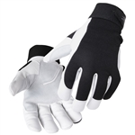 Black Stallion FlexHand Grain Goatskin Mechanic's Gloves #GX3020BW