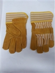 Boss Gloves 1JL2302  Split Pigskin Palm Size Large.  12 Pairs