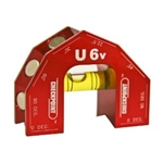 Checkpoint U6 V- Groove Lvel Color - RED