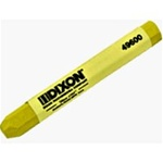 Dixon 496 Lumber Crayons- Yellow Color 12 Pcs. ( Made in USA )