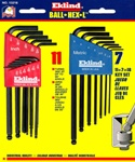 EKLIND 13218 18PC Ball-Hex L Key Set