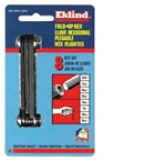 EKLIND 20811 FOLD UP  HEX KEY SET-INCH, .050 UP TO 5/32 MADE IN USA