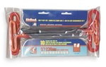 EKLIND 53610 Cushion Grip T Handle Hex Key Set