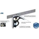 Empire E250 12-Inch Heavy Duty Professional Combination Square w/Etched Stainless Steel Blade and True BlueR Vial