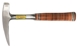 Estwing E30 Leather Grip Rock Pick (Pointed Tip) Made in U.S.A.
