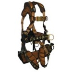 FALLTECH TOWER CLIMBER HARNESS - FallTech Harness With Seat & Back Support 7084