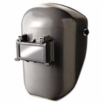 FIBRE-METAL 4906GY Tigerhood® Classic Welding Helmet Shell Color-Gray with 4001 Mounting Cup
