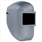FIBRE-METAL 990SR Tigerhood® Classic Welding Helmets with THERMOPLASTIC SILVER, WIDE VISION