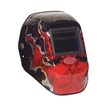 Fibre Metal 2999BV913X2 Tigerhood  Premium Welding Helmet With Auto- Darkening Lens ADF Shade Control 9 to 13