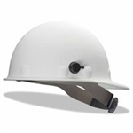 Fibre- Metal P2HNQRW01A000 Roughneck P2HN Hard Hats - WHITE  With Quick- Lok  Mounting Blocks.