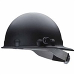 Fibre- Metal P2HNQRW11A000 Roughneck P2HN Hard Hats - BLACK  With Quick- Lok  Mounting Blocks.