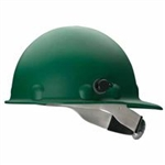 Fibre- Metal P2HNQRW74A000 Roughneck P2HN Hard Hats - GREEN  With Quick- Lok  Mounting Blocks.
