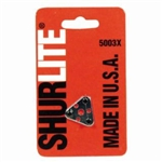 GC Fuller 5003X ShurLite Replacement Tri Flint Striker ( Only One Flint ) MADE IN U.S.A ***** Best Seller ******