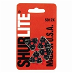 GC Fuller 5012X ShurLite Replacement Tri Flint Striker Set ( Only Four Flints Per Card ) MADE IN U.S.A ***** Best Seller ****** Free Shipping Cost in US *******