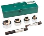 GREENLEE 744  5 Pc. Slug-Spitter  Knockout Punch Kits