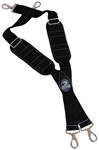 Gatorback B606 - Molded Air Channel Suspenders with Pro-Comfort Pads& Spring Hooks.