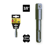 "Ivy Classic 44780 3"" SDS Plus Shank to 3/8"" Sq Socket Adaptor ******** Best Seller *******"