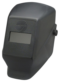 "Jackson Safety HSL 1 Welding helmet 2""x4.25 Fixed Front.Black,Blue,Red.(Available Colors)"