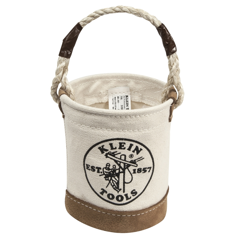 Klein 5104 Mini Leather Bottom Bucket Made In Usa