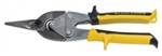 Klein Tools J1102S Journeyman Aviation Snips - Straight/Wide Curves Cutting. Yellow/Black