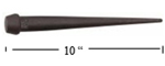 "KLEIN TOOLS 3256 Broad-Head Bull Pin. Made in U.S.A. (Small Bull Pin) Length 10"" ****** Best Seller ******"
