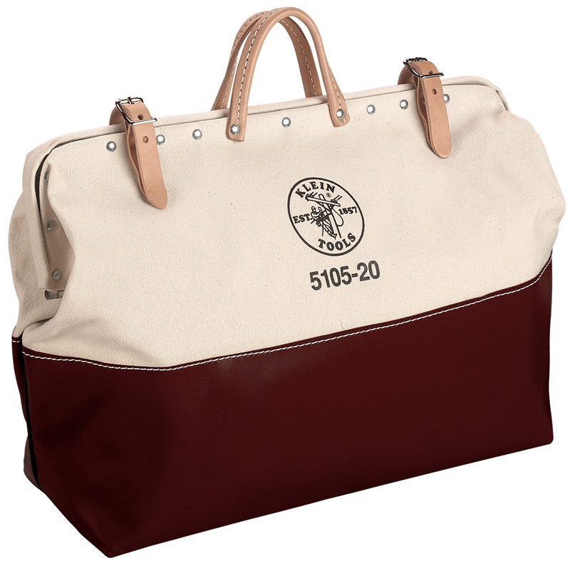 Klein 5105 20 20 Quot High Bottom Canvas Tool Bag