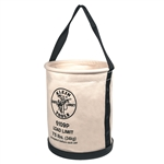 Klein 5109P Wide-Opening Straight-Wall Bucket - Inside Pocket