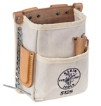 Klein 5125 5-Pocket Tool Pouch - Canvas ***** Best Seller ******