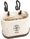Klein 5144 Aerial-Basket Oval Bucket with 15 Interior Pockets