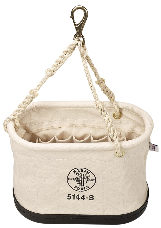 Klein 5144s Oval Bucket With 15 Interior Pockets