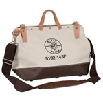 Klein 5102-14SP 14'' Deluxe Canvas Tool Bag With Detachable shoulder strap. ****** Free Shipping Cost in US *******