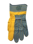 Knox- Fit S118BG Turtle Neck - Heavy Duty Ironworker Gloves 12 Pairs. Size Large -  Short Cup