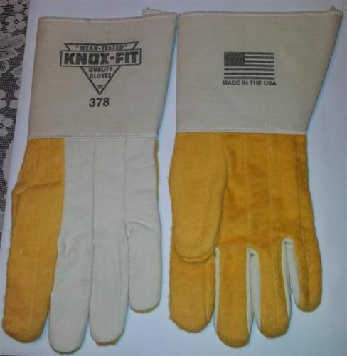 Knox Fit 378 Heavy Duty Ironworkers Gloves 12 Pairs Long