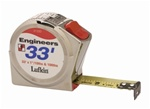 Lufkin 032133D Engineer Tapes Measure Size33'