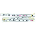 Lufkin 066F Red End 6-Feet, Folding Rulers.( Inside Reading)